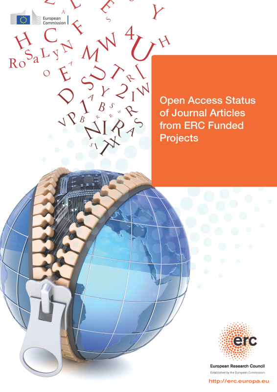 Open Access Status of Journal Articles from ERC Funded Projects