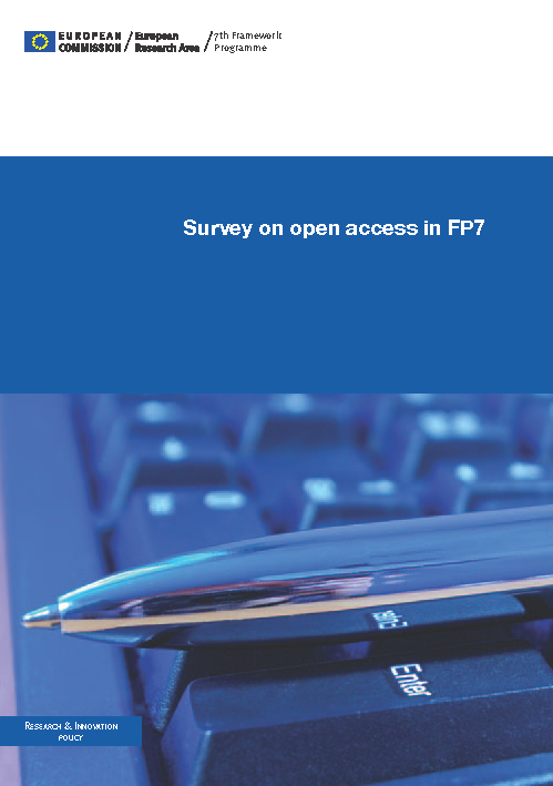Survey on open access in FP7