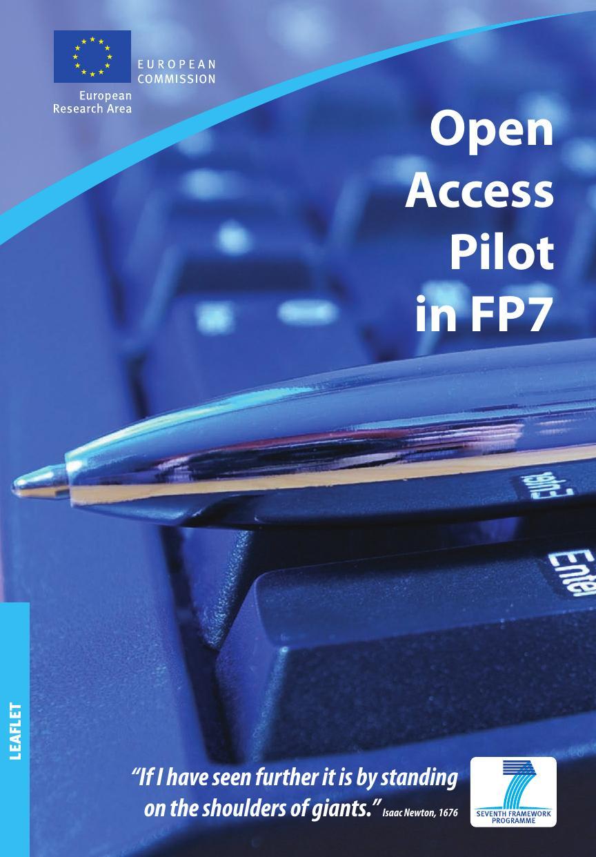 Open Access Pilot in FP7